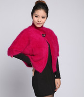 Wholesale 2012 Fashion Genuine Mink Fur Furs Coat Coats Long Haired Mink Cashmere Mink Cashmere Small Cloak