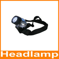 Wholesale Outdoor camping supplies the LED headlamps fishing lights Bike hat lights