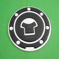 Wholesale Carbon Fiber Fuel Tank Gas Cap Cover Pad For Honda
