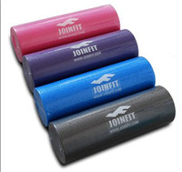 Wholesale JOINFIT Pilates yoga foam roller column balance rod column foam shaft Swimming roller blue