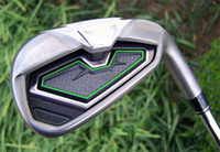 Wholesale 2012 GOLF CLUBS GOLF IRONS PW AW SW RH GRAPHITE REGULAR FLEX SHAFTS COME WITH HEADCOVERS
