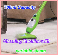 Wholesale 6pcs H2O MOP X5 Steam Mop Green in1 Chemical Free Steam Cleaner Machine Portable