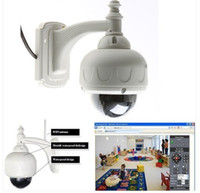 Outdoor wifi ip dome - PTZ Wireless IP WaterProof Outdoor X Dome Camera IR Night Vision WiFi Webcam for iphone ipad G