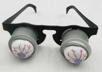 Wholesale Horror shock pop eyes glasses Halloween party props Christmas party supplies