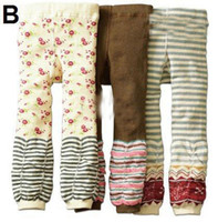 0-4year baby pants pack - New Arrive Nissen PP Pants Kids Leggings Corduroy Pants Toddlers Tights One pack Size x Style