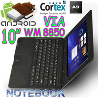 10-10.9'' epc mini notebook - 10pcs EPC UMPC VIA quot mini Netbook Android Cortex A9 webcam HDMI laptop WM8850 notebook