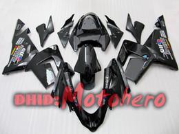 Body for KAWASAKI Ninja ZX10R 04-05 ZX-10R ZX 10R ZX 10 R 04 05 2004 2005 black fairing kit 8988