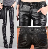 Wholesale New Arrival Lady s Jeans Autumn New Europe Both Cortical Stitching Tight Bound Feet Jeans