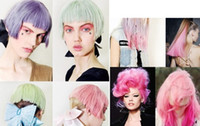 Wholesale Chalk Hair Color Professional color chalk suit hair dye crayons Color box box