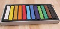 Wholesale 12 Color box box DIY Temporary hair dye beautiful colors chalk