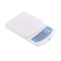 Wholesale New White Kg g Digital Kitchen Scale Diet Food Compact Kitchen Scale