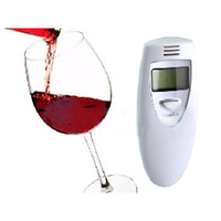 Wholesale Tester Analyzer LCD Digital Alcohol Breathalyzer Breath