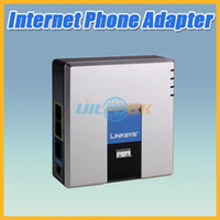 Wholesale Unlocked CISCO System PAP2T NA PAP2T PAP2 VOIP Internet Phone Adapter SIP Gateway