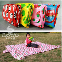 Wholesale NADO children s play mat crawling baby blanket Cartoon Beach Mat Picnic Mat outdoor picnic