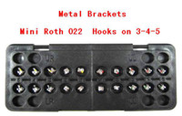 "Metal   New Dental Orthodontic Metal Brackets Mini Roth .022"" hooks on 3,4,5 Free Shipping"