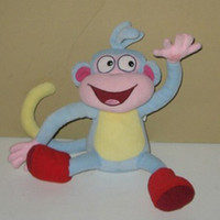 Wholesale high quality soft plush the boots boss the monkey plush dolls toy quot dora toys