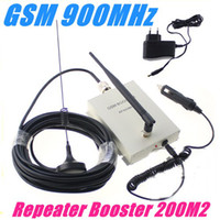 Wholesale Mini GSM MHz Cell Phone Car and Home Signal Repeater Booster M square