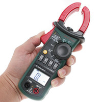 Wholesale Digtal Clamp Meter with Light Temp Frequency MASTECH MS2008B freeshipping O018