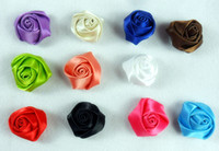 Wholesale Diy jewelry accessories manufacturers manual ribbon decoration flowers hair ornament materials whole