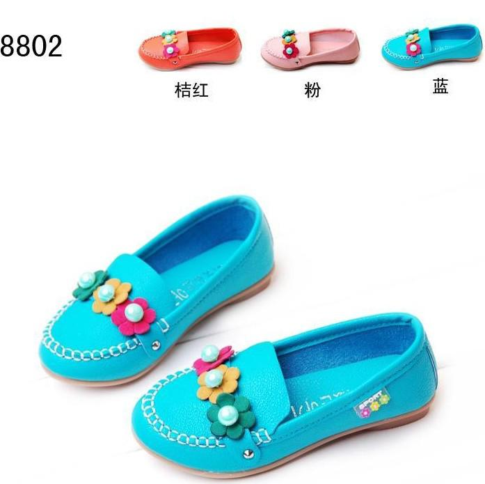Baby Girls' Shoes Kids 27-31 8802 Shoes Cute Princess Bow Autumn ...
