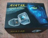 Wholesale AVATAR watch mobile phone with numberic keypad avator