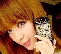 Wholesale Crystal Case for iPhone S Design Hard Cover Case for iPhone4G S Case