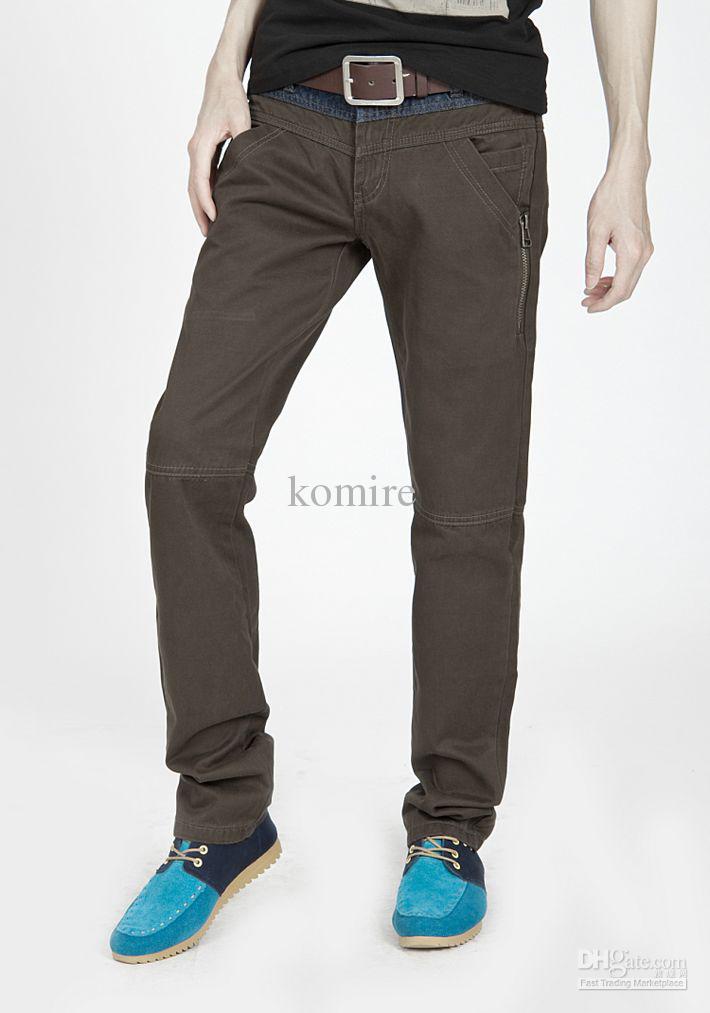 Men Casual Pants Clothing Online Outlet Factory Trouser Cheap Male
