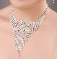 Celtic beautiful jewelry ornaments - Jewelry Sets Fashion Pearl Beautiful Necklaces Earrings Wedding Bridal Ornament