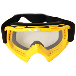 YELLOW Motorcycle motocross goggles Motorcycle ATV BMX Bike Motocross
