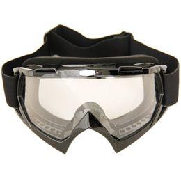 Black Motorcycle Motocross Dirt Bike Cross Country Flexible Goggles Adult BMX Bike Motocross