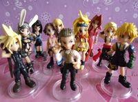 Wholesale Final Fantasy Classic Japan help PVC Action Figures Dolls cm set