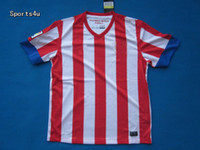 Wholesale 2012 Soccer Kits Atletico Madrid Home Football Jerseys Red and White