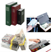 Wholesale The simulation English Dictionary amp novel safe Creative piggy bank mini book safe box Secret book