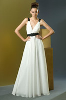 Ivory Simple Sheath Column Spaghetti strap Floor length Flow...