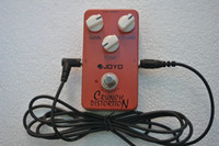Wholesale British Classic Rock Crunch Distortion Guitar Effect Pedal True Bypass JOYO Free Guitar cable m