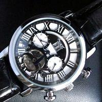 Prezzi Orologi jaragar-Vendita calda JARAGAR lusso inossidabile degli uomini di immersione uomo Orologi meccanici automatici orologi da polso di alta qualità