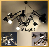 Wholesale Contemporary Dear Ingo Spider Chandelier Pendant Lamp Ceiling Light Light