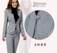 Wholesale free ship classic brand assurance women s Blazer and Suits Pant Suits women s trousers blazer