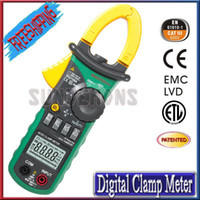 Wholesale Portable MS2108A Counts AC DC Current Digital Clamp Meter High performance O025