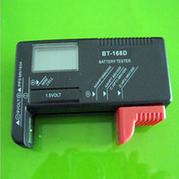 Wholesale Digital LCD AAA AA PP3 F22 Alkaline V Battery Tester