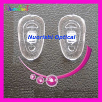 Wholesale Si19 Si23 Si26 Si27 Si29 silicone nose pads glasses nose pads eyewear accessory