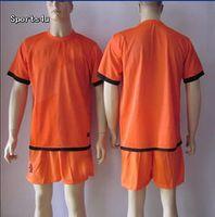 Wholesale 2012 New Soccer Jerseys Netherlands Away Football Kits Orange