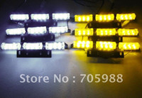 amber fog - 6x9 LED Snow Plow Car Boat Truck Warning Emergency Strobe Lights Indicator Grill Fog Lamps Wa