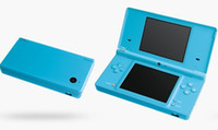 Wholesale Christmas gift ice blue for ndsi console ndsi system with camera for NDS games free CPA