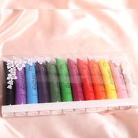 nail paint polish nail art painting brush pen uv gel   12ml 12 Colors Multi-surface 3D Nail Art Painting Brush Pen UV Gel Acrylic Nail Polish Set