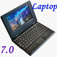 Wholesale N7 VIA Inch Android OS laptop Wifi CE Colorful Netbook Mini Notebook For Christmas