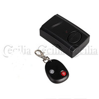 Wholesale Wireless Vibration Alarm Remote Control Alarm for Car Motorcycle Bike Door SS152514