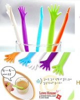 Wholesale New Coffee Drink Milk Stick Stirrer Stir for Kitchen Bar Cocktail Drink HELP ME