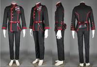 allen walker boots - D Gray Man Cosplay Costume Allen Walker III uniform Mask Cloak Sword Wig Boots D Gray man