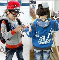 baby pilot jacket - Baby fashion jackets Children Pilot glasses design coat Cool Hooded outfit Thick warm outerwear